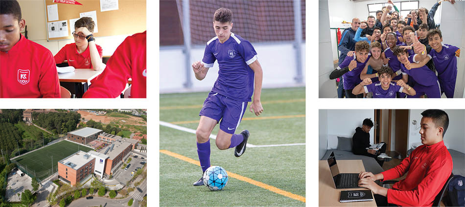 Kaptiva Sports Academy Quality education and training for aspiring footballers in Barcelona