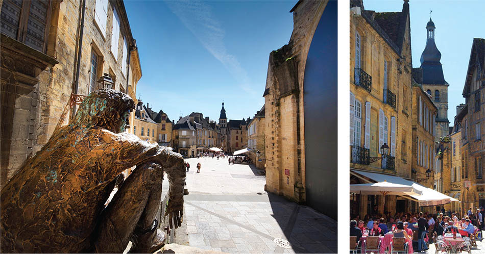 Sarlat, where natural beauty, gastronomy and history combine